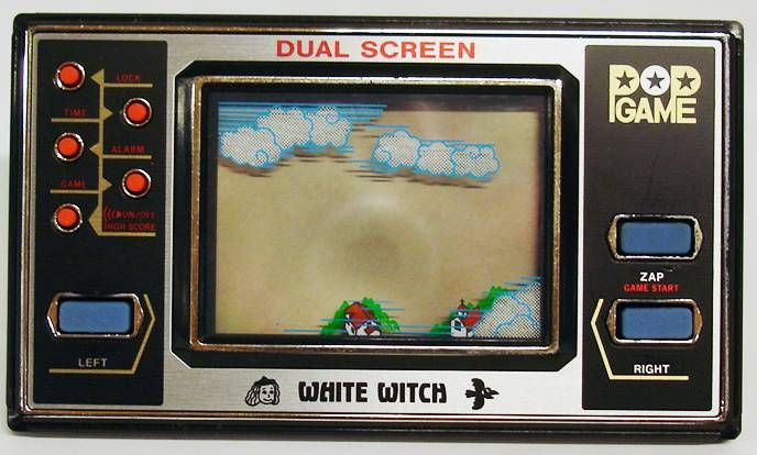 Matsushima - Handheld POP Game - White Witch La Sorcière Blanche (Dual Screen)