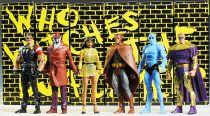 Mattel - Watchmen Club Black Freighter - Complete set of 6 Action-Figures