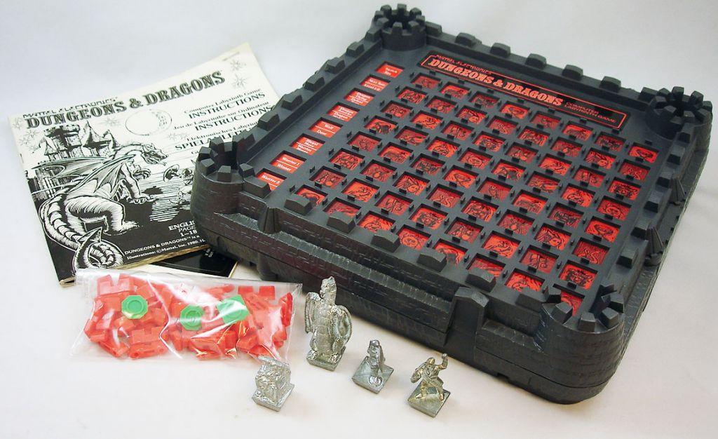 Mattel Electronics - Donjons & Dragons : le Labyrinthe Electronique