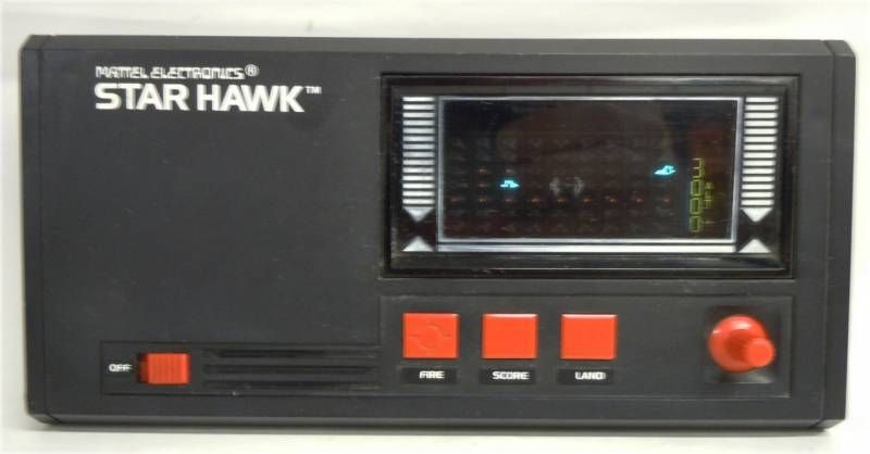 Mattel Electronics - LSI Portable Game - Star Hawk (occasion)