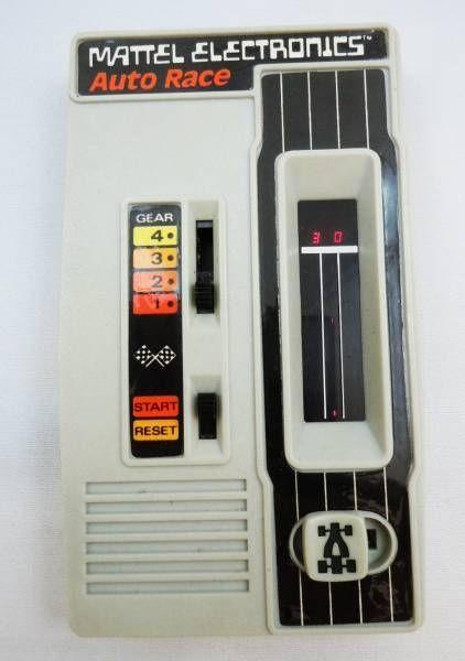 Mattel Electronics - Pocket Electronic Games - Auto Race