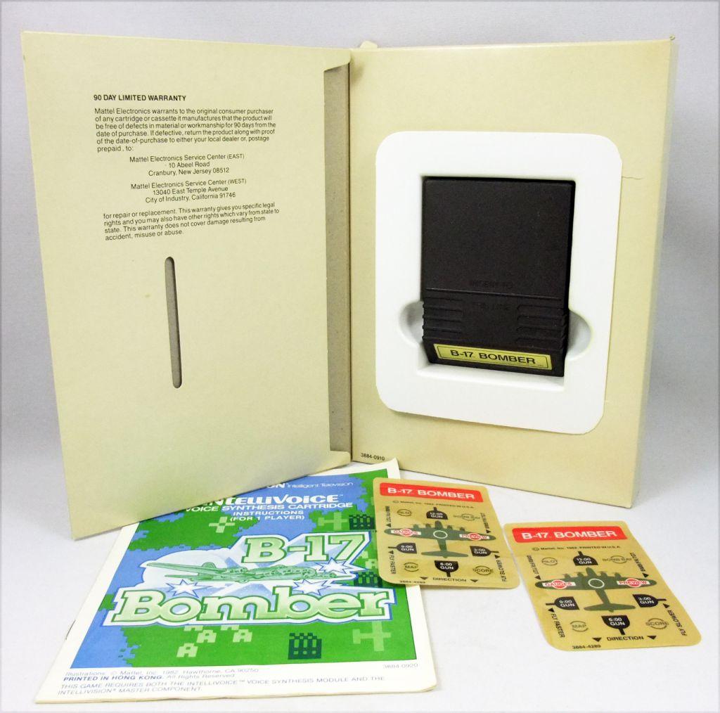 "Mattel Electronics Intellivision - B-17 Bomber ""Intellivoice"""