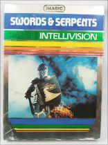 Mattel Electronics Intellivision - Imagic\'s Swords & Serpents