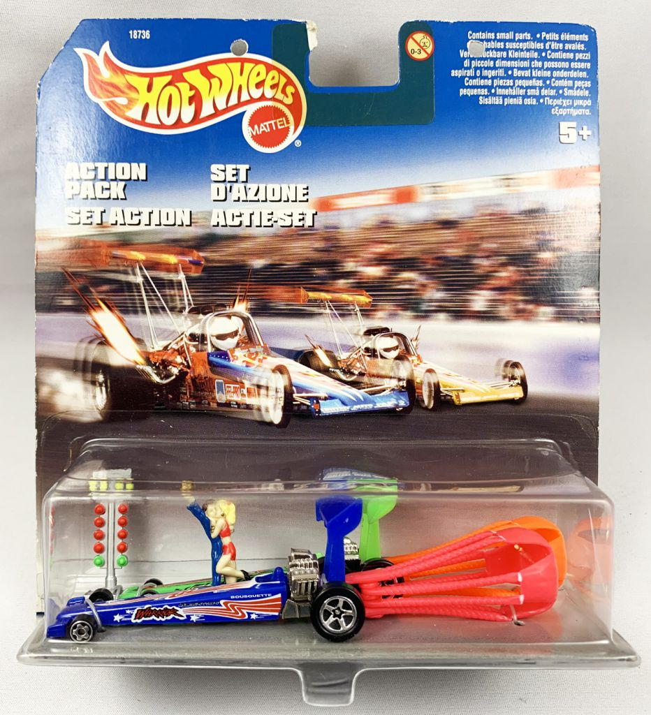 Onwijs Mattel Hot Wheels - Drag Racing (Set Action) Ref.18736 (1997) AC-59