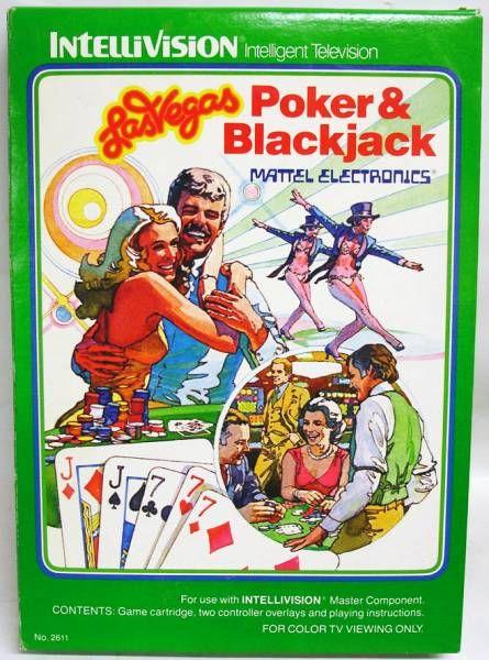 Mattel Intellivision - Las Vegas Poker & Blackjack