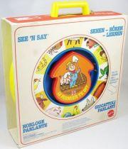 Mattel Preschool 1979 - Horloge Parlante See\'n Say Le fermier te dit (1)