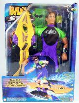 Max Steel - Mattel 1999 - Surf Attack Max Steel & Turbo Board