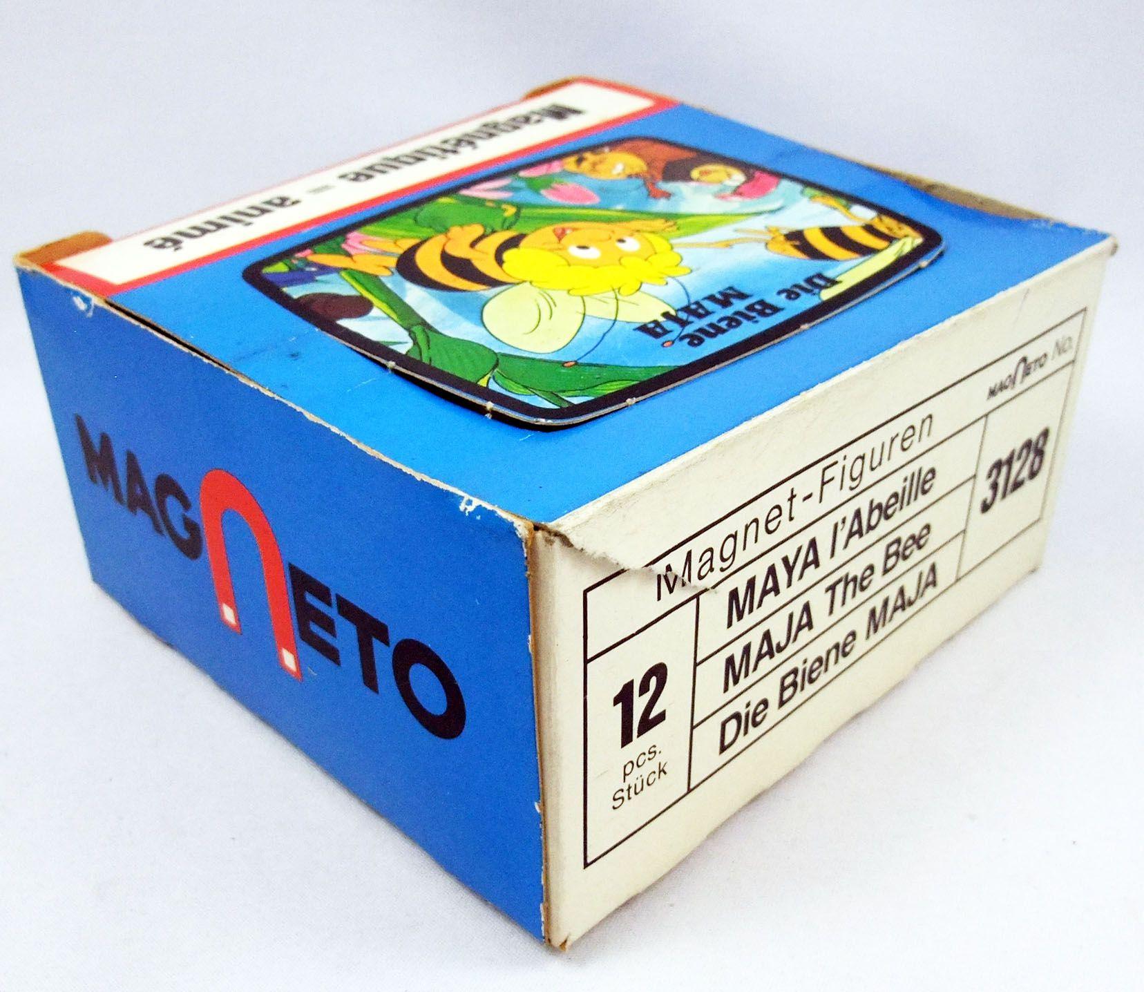 Maya l\'abeille - Boite présentoir Maya magnétique - Magneto 1977 (occasion)