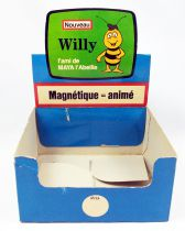 Maya l\'abeille - Boite présentoir Willy magnétique - Magneto 1977 (occasion)