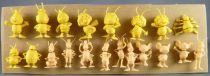 Maya l\'abeille - Zemo\'s Bubble Gum - Série Complète de 20 Figurines Monochromes