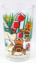 Maya the Bee - Mustard glass - Maya, Willi & Flip and the honey pots