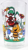 Maya the Bee - Mustard glass - Maya, Willi, Paul the ant & Igor the Earwig