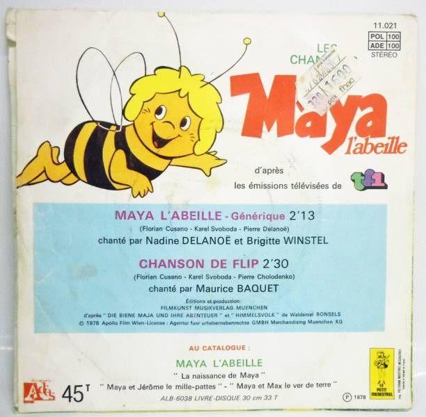 Maya the Bee - TV Serie theme - 45s