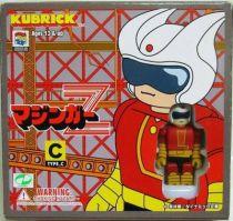 Mazinger Z - Medicom - Set de figurines Kubrick Type C : Mazinger Z Power-up parts, Doublas M2 et Koji Kabuto
