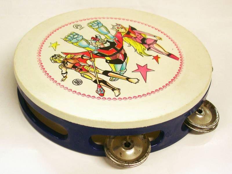 Mazinger Z & Starzinger - Angel - Tambourin plastique pour enfant (loose)