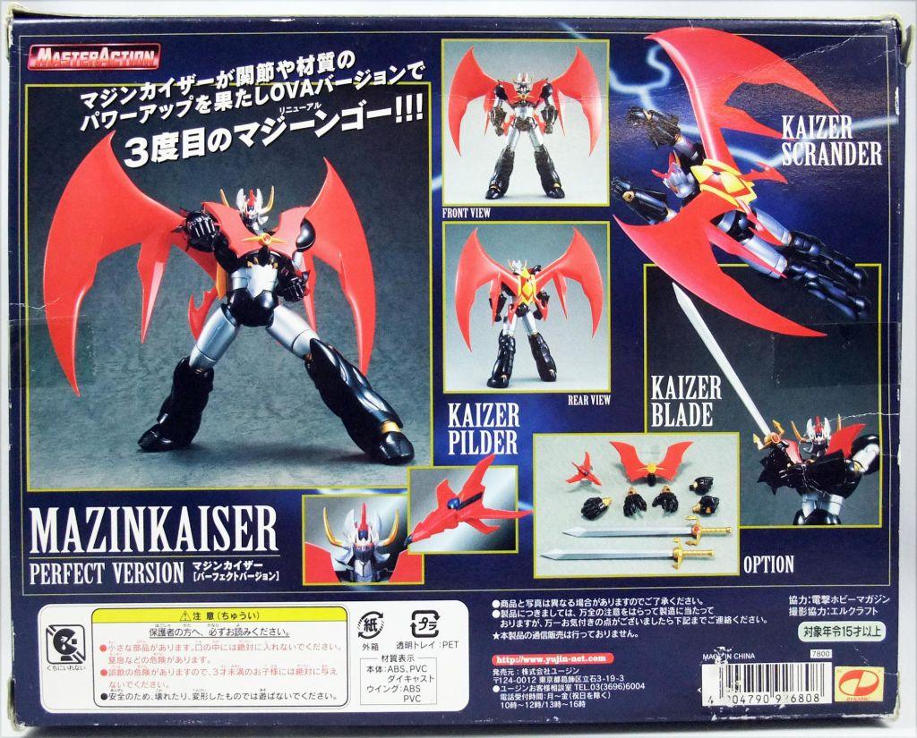 """Mazinkaiser - Yujin - Mazinkaiser Perfect Version - Die-cast metal 8\"""" robot"""