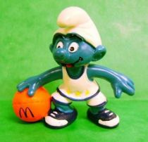 McDonald 1998 Basketballer Smurf