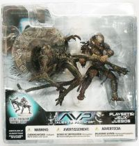 McFarlane - Alien vs Predator série 2 - Celtic Predator throws Alien