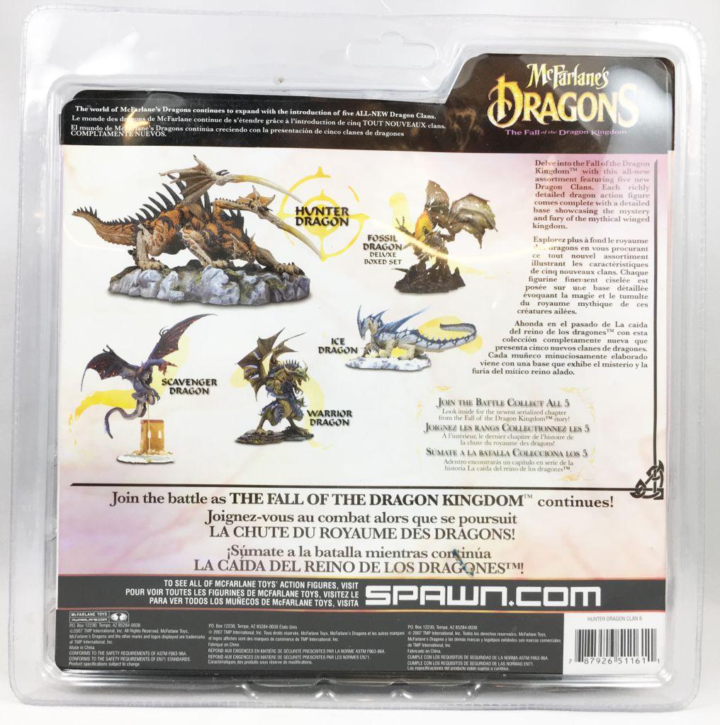 McFarlane\'s Dragons - Hunter Clan Dragon (series 6)