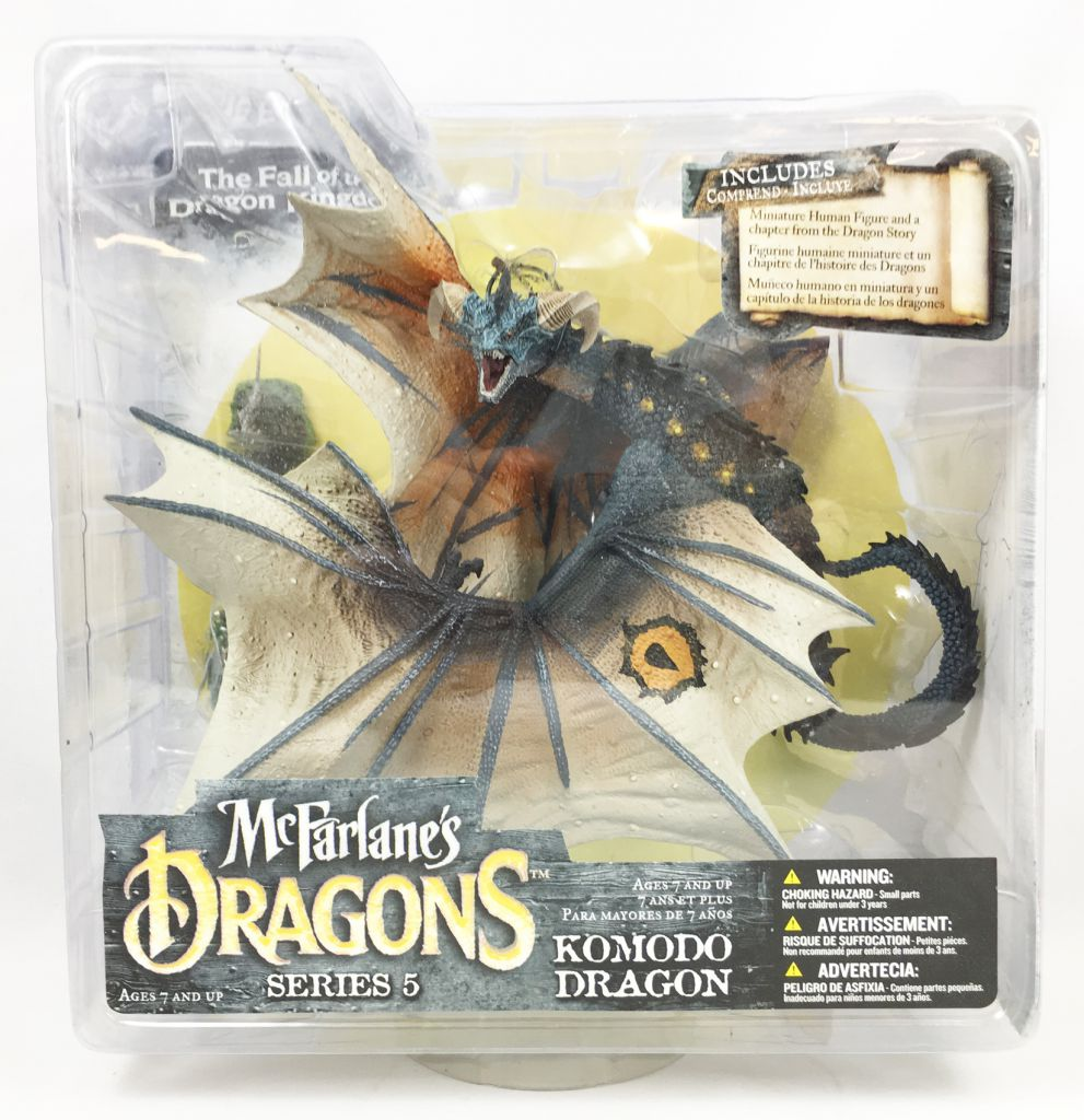 McFarlane\'s Dragons - Komodo Clan Dragon (series 5)