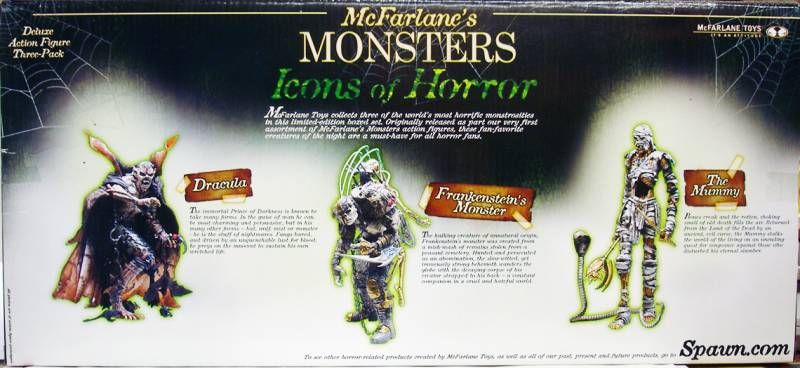 McFarlane\'s Monsters - Icons of Horror gift-set
