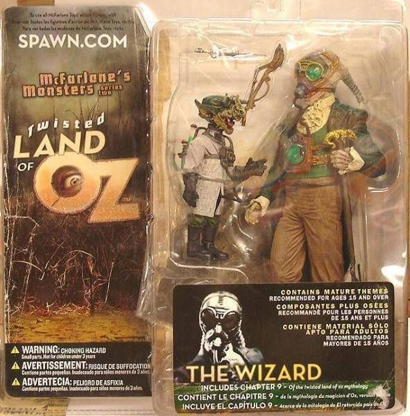 McFarlane's Monsters - Series 2 (Twisted Land of Oz) - The Wizard