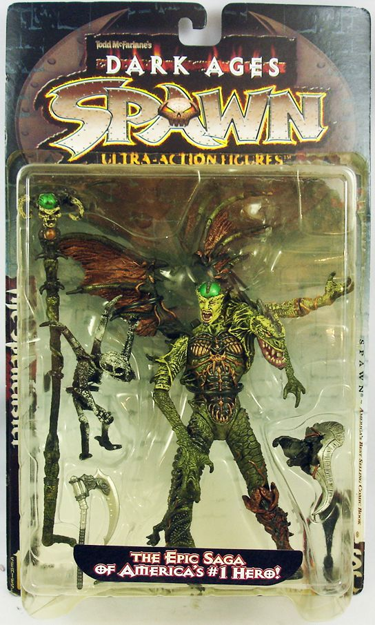 McFarlane\'s Spawn - Series 11 (Dark Ages) - The Spellcaster