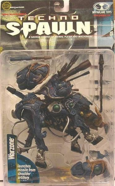 McFarlane\'s Spawn - Series 15 (Techno Spawn) - Warzone