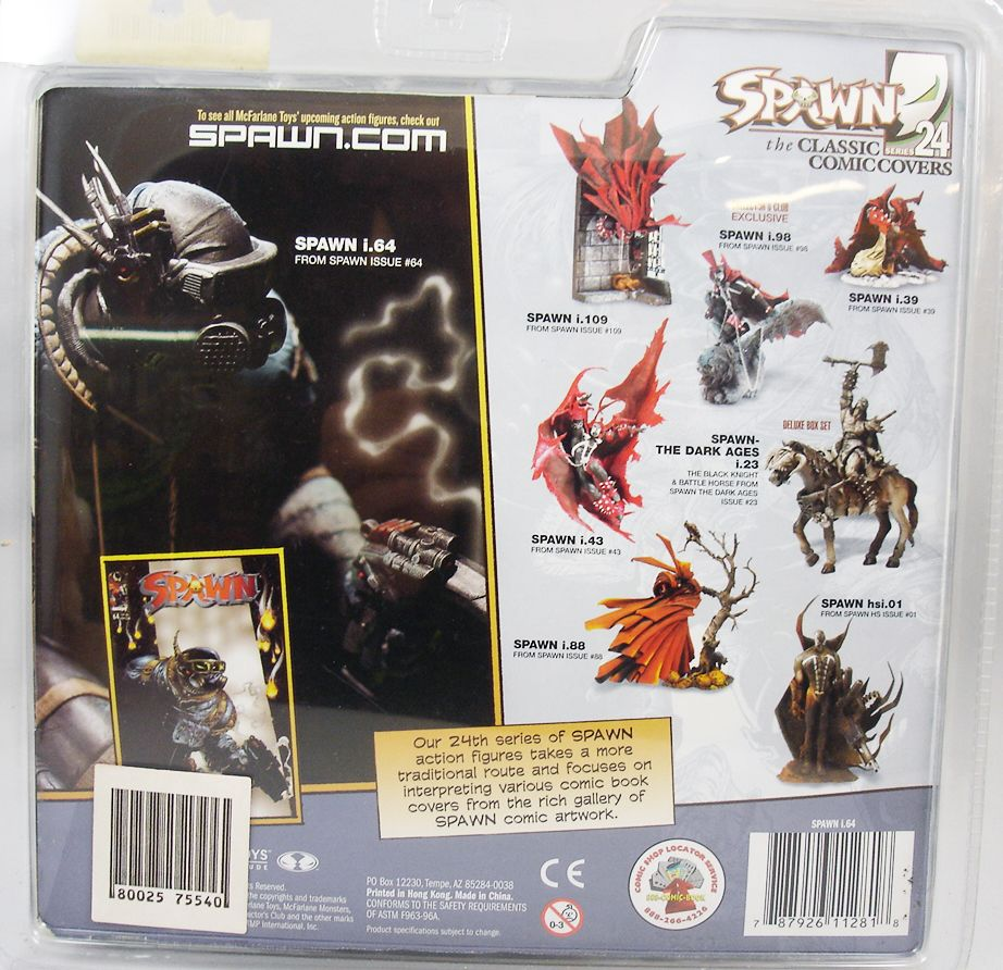 McFarlane\'s Spawn - Serie 24 Classic Comic Covers - Spawn i.64 (1)