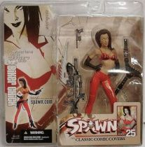 McFarlane\'s Spawn - Series 25 (Classic Comic Covers) - Biker Chick (McFarlane Collector\'s Club Exclusive)
