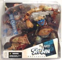 McFarlane\'s Spawn - Series 27 (The Art of Spawn) - Clown 5 (Collector\'s Club Exclusive)