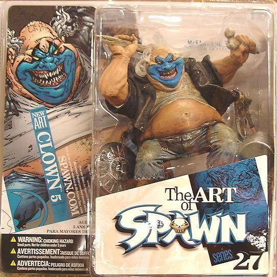 McFarlane\\\'s Spawn - Series 27 (The Art of Spawn) - Clown 5