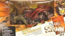 McFarlane\'s Spawn - Series 27 (The Art of Spawn) - Spawn vs. Al Simmons