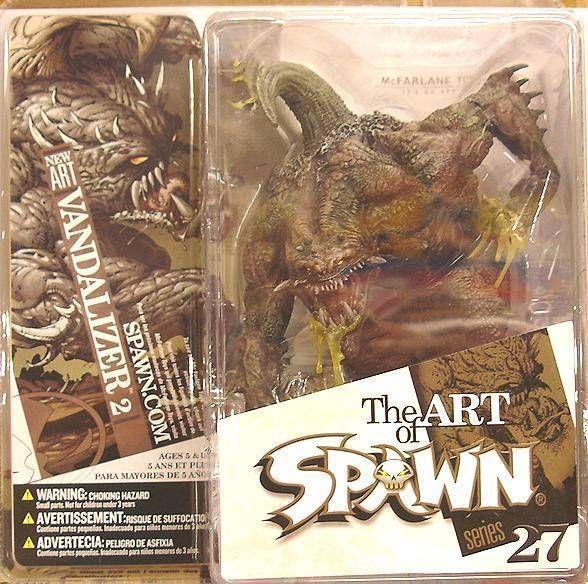 Mcfarlanes Spawn Series 27 The Art Of Spawn Vandalizer 2