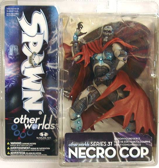 McFarlane\\\'s Spawn - Series 31 (Other Worlds) - Necro Cop