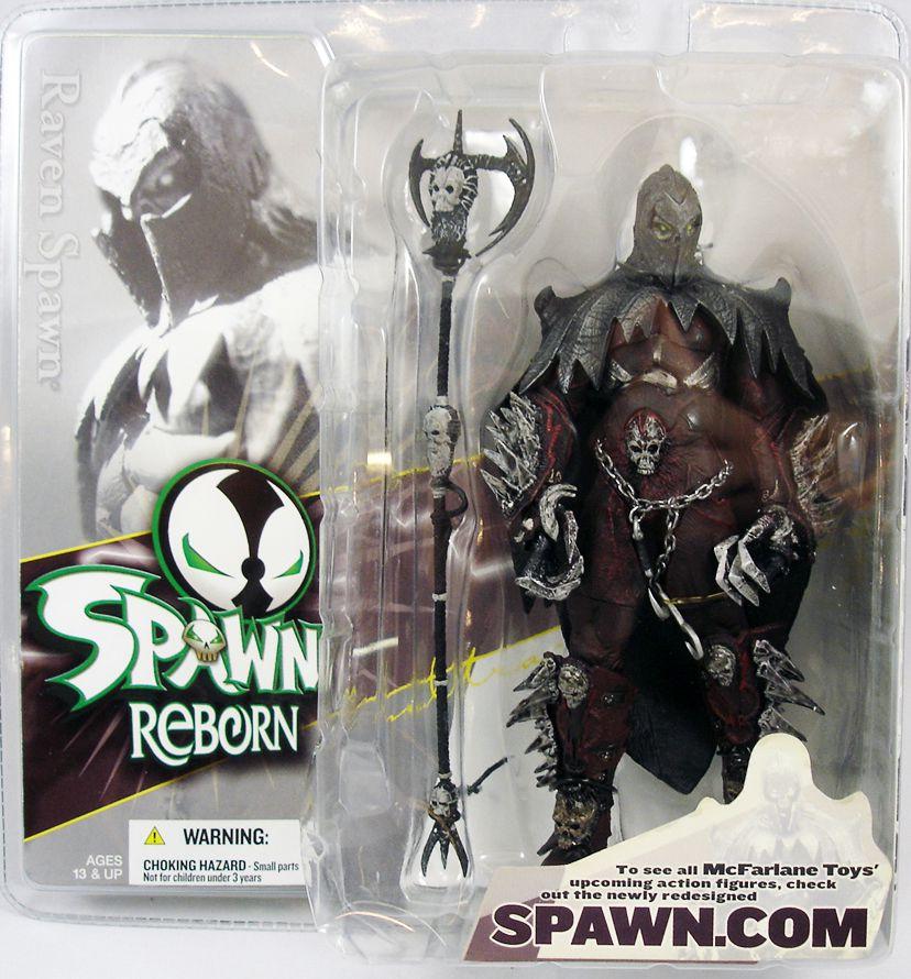 McFarlane\'s Spawn - Serie Spawn Reborn 1 - Raven Spawn