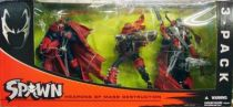 McFarlane\'s Spawn - Spawn Weapons of Mass Destruction 3-pack