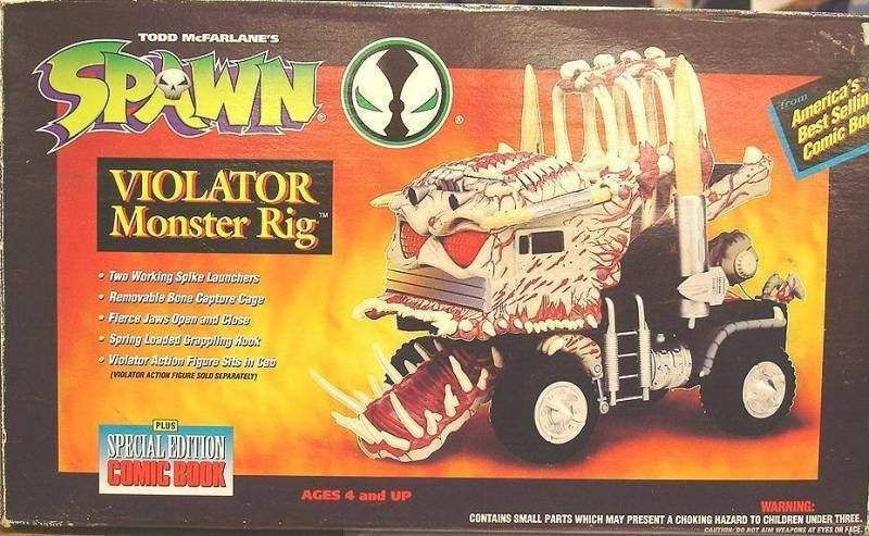 McFarlane\\\'s Spawn - Violator Monster Rig
