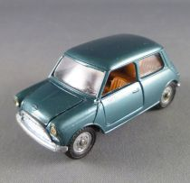 Mebetoys A-28 Innocenti Mini Minor Metalised Blue