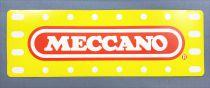 Meccano - Autocollant Promotionnel 1980\'s