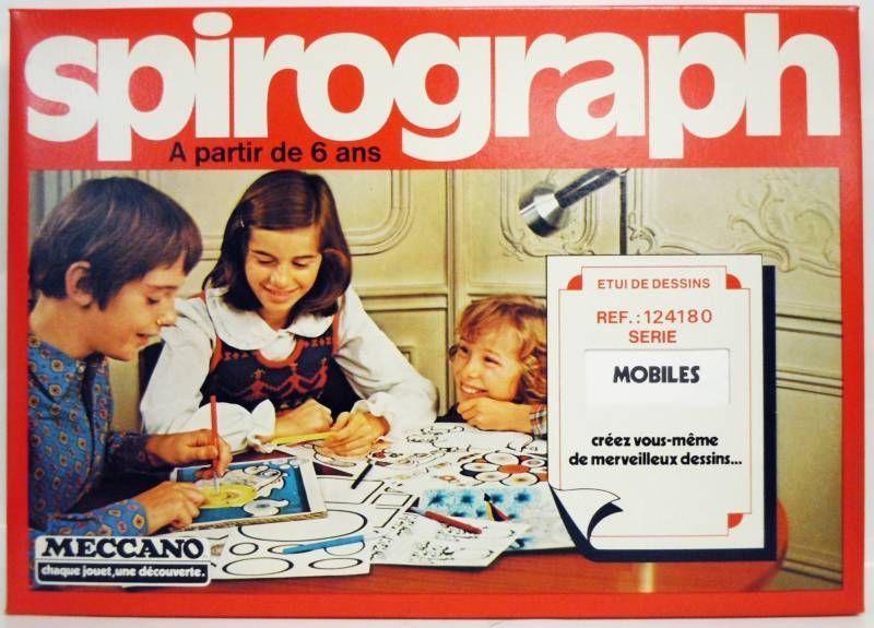Meccano - Spirograph Etui de Dessins - Mobiles