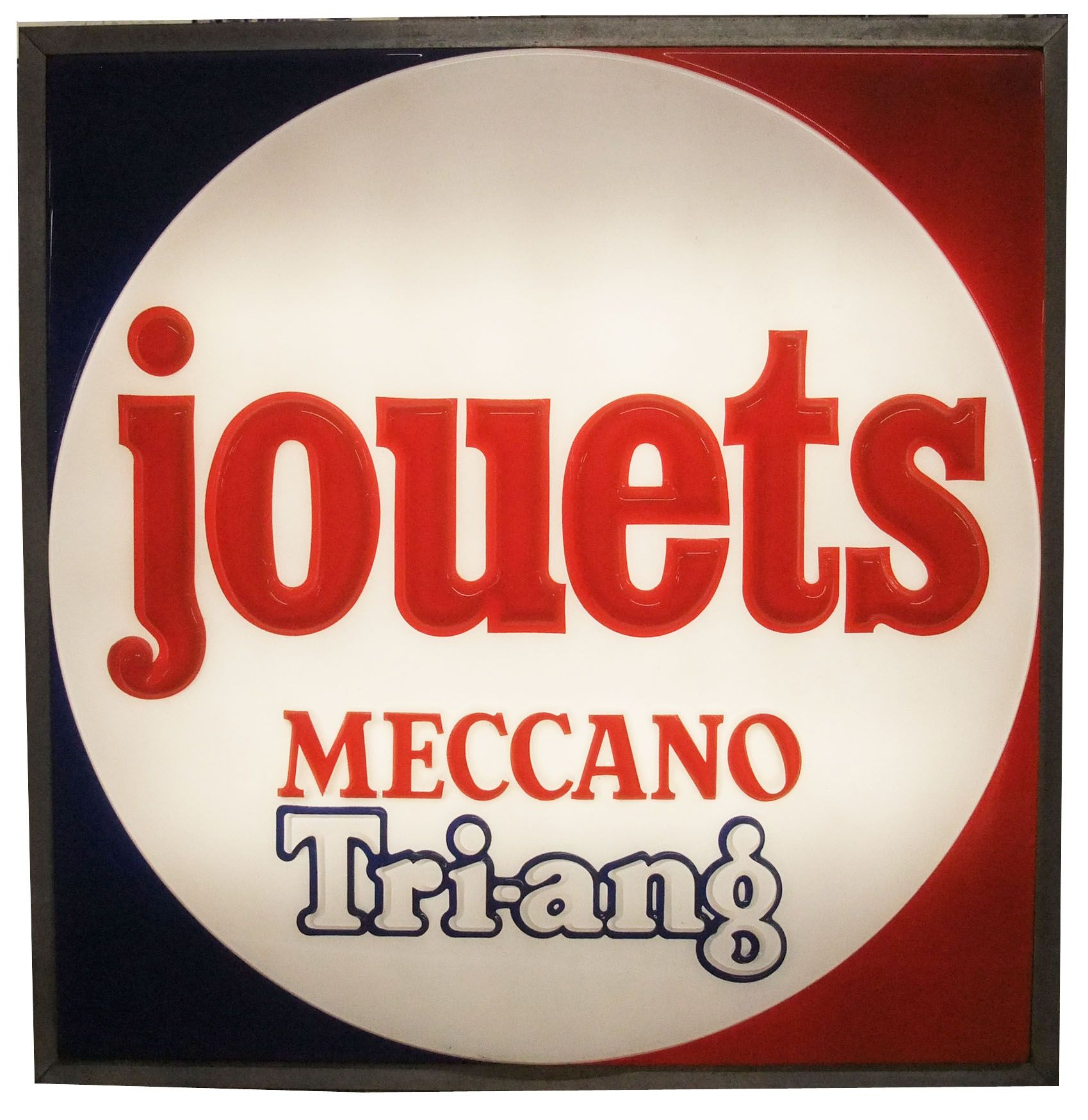 Meccano Tri-ang - Enseigne lumineuse de magasin de jouets Années 1970
