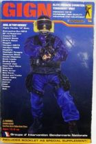 Medicom Real Action Heroes - GIGN Elite French Counter-Terrorist Unit