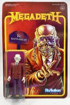 Megadeath- ReAction Super7 Figure - Vic Rattlehead
