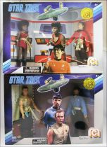 Mego - Star Trek The Original Series - Mirror Universe Kirk, Spock, Sulu & Uhura