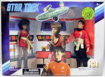 Mego - Star Trek The Original Series - Mirror Universe Kirk, Spock, Sulu & Uhura
