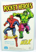 Mego Pocket Heroes - L\'Extraordinaire Spider-Man - neuf sous blister Pin Pin Toys