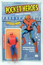 Mego Pocket Super-Heroes - Spider-Man (mint on card Pin Pin Toys)