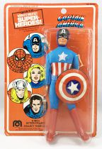 Mego World\'s Greatest Super-Heroes - Captain America (mint on card)
