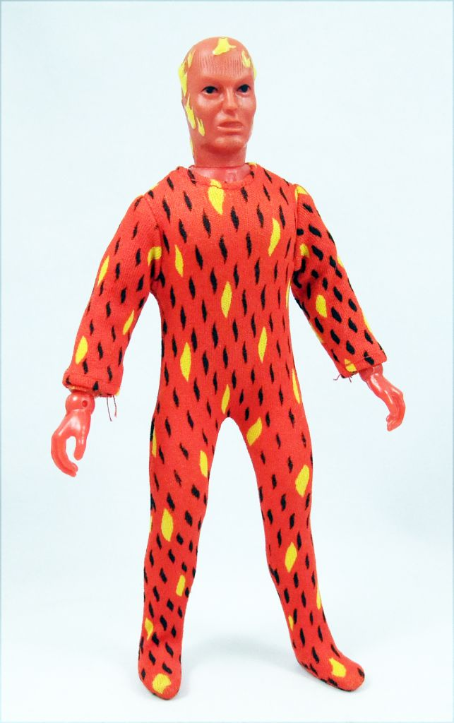 Mego World\\\'s Greatest Super-Heroes - Human Torch (loose)